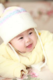 Asia baby. Close up of cute asia baby Stock Image