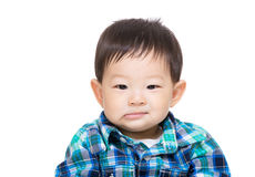 Asia baby boy isolated Stock Photography