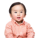 Asia baby boy Royalty Free Stock Image