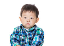Asia baby boy Royalty Free Stock Images