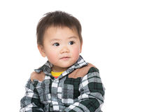 Asia baby boy Royalty Free Stock Photos