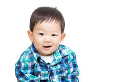 Asia baby boy portrait Royalty Free Stock Image
