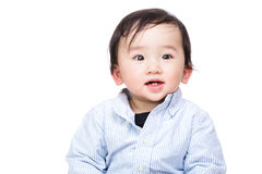 Asia baby boy smile Royalty Free Stock Photography