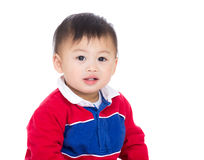 Asia baby boy smile Royalty Free Stock Images