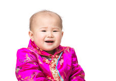 Asia baby cry Stock Photography