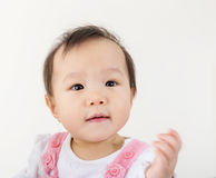 Asia baby girl Stock Photography