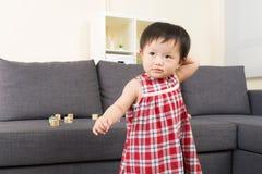 Asia baby girl Stock Image