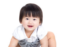 Asia baby girl Stock Photography