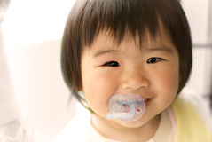 Asia baby smile royalty free stock images