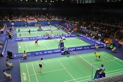 asia badmintonmästerskap 2011 Royaltyfri Bild
