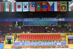 asia badmintonmästerskap 2011 Royaltyfri Fotografi