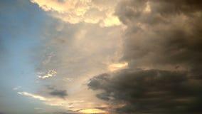 asia baikal clouds för den russia för ölakeolkhon sikt thunderstormen Royaltyfri Fotografi