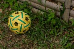 asia balowy popularny rattan sepak sporta takraw Zdjęcia Royalty Free
