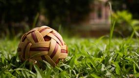 asia balowy popularny rattan sepak sporta takraw Fotografia Royalty Free