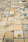 in   asia  bangkok  abstract pavement cross stone step the templ Royalty Free Stock Photos