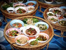Asia, Basket, Bowls Stock Photos