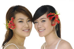 Asia beautiful Stock Image