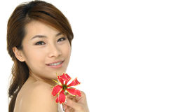Asia beautiful Stock Photography