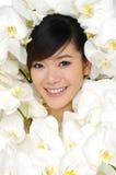 Asia Beautiful girl Stock Images