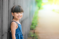 Asia Beautiful young girl portrait Stock Photography