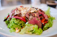 Asia beef salad Royalty Free Stock Images