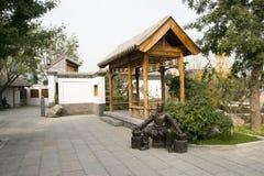 In Asia, Beijing, China, Expo Garden, antique buildings Stock Photos