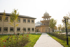 In Asia, Beijing, China, Expo Garden, architecture, landscape Stock Photo