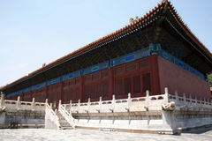 In Asia, Beijing, China, historic buildings, the Imperial Ancestral Temple Royalty Free Stock Photos