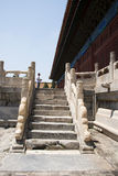 In Asia, Beijing, China, historic buildings, the Imperial Ancestral Temple Royalty Free Stock Image