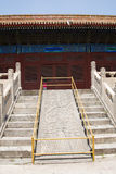 In Asia, Beijing, China, historic buildings, the Imperial Ancestral Temple Royalty Free Stock Images
