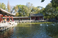 In Asia, Beijing, China, historic buildings, Prince Gong 's Mansion Royalty Free Stock Images