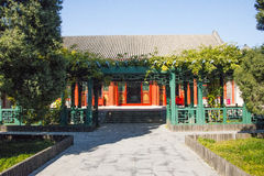 In Asia, Beijing, China, historic buildings, Prince Gong 's Mansion Stock Photos