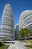 In Asia, Beijing, China, modern architecture, Wangjing SOHO Stock Photo