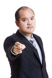 Asia business man feeling angry Royalty Free Stock Photos
