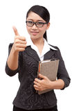 Asia business woman Stock Photo