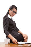 Asia business woman Stock Images