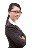 Asia business woman. A portrait of Asia business woman Stock Image