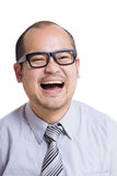 Asia businessman feeling happy Stock Photography