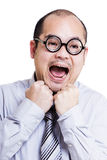 Asia businessman feeling stressed Stock Photography
