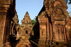 ASIA CAMBODIA ANGKOR BANTEAY SREI Royalty Free Stock Images