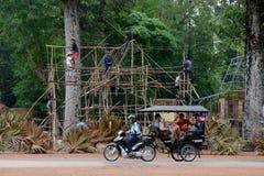 ASIA CAMBODIA ANGKOR PREAH KHAN Stock Image