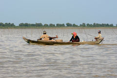 ASIA CAMBODIA SIEM RIEP TONLE SAP Stock Photography