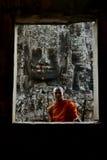 ASIA CAMBOYA ANGKOR ANGKOR THOM Imagen de archivo libre de regalías