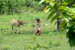 ASIA CAMBOYA SIEM RIEP TONLE SAP Foto de archivo libre de regalías