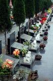 Asia cemetery Stock Image