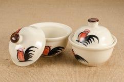 Asia ceramic bowl Stockfotografie
