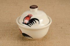 Asia ceramic bowl Stockfotos