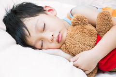 Asia child sleeping Stock Photography