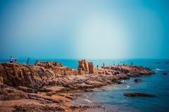 Asia China ,Qingdao, Shandong Province,Seaside Scenery stock images