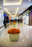 Asia China, Beijing, APM shopping center, indoor. China, Beijing,, APM shopping center, the Wangfujing shopping district, one-stop modern model, the daily trend Stock Image